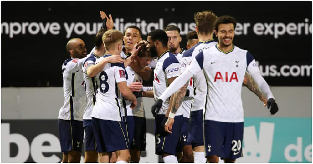 Marine vs Tottenham: Carlos Vinicius scores hat-trick as Spurs win 5-0 to reach 4th round of FA Cup