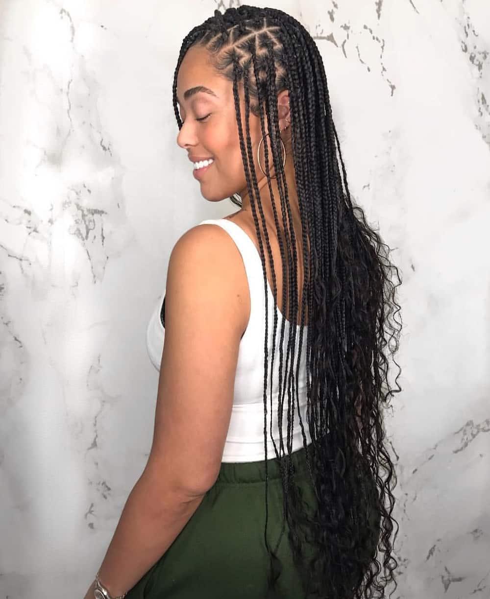 How to loosen tight braids