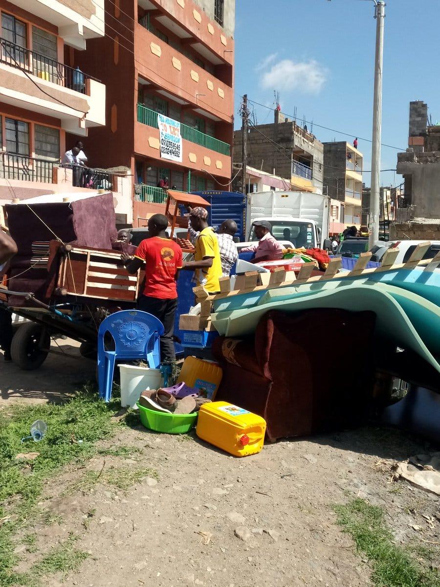 Pain and anguish as Kenya Power demolishes houses built on its land in Nairobi