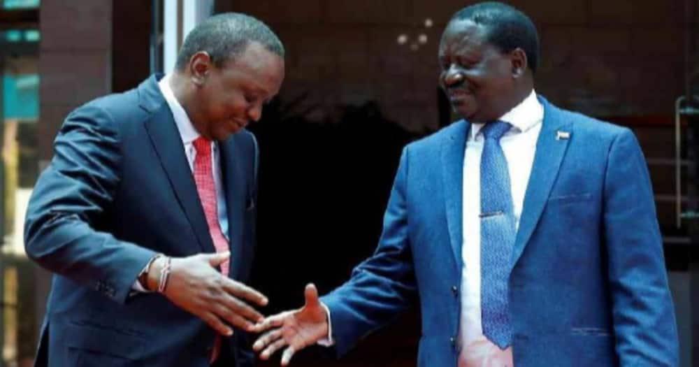 """""""Hamuwezi Kunizuia"""": DP Ruto Awashambuli Rais Uhuru na Raila"""