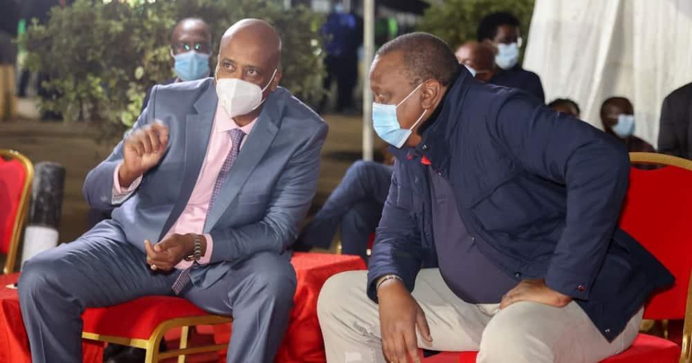 Mohammed Badi sasa ndiye rafiki wa Rais Uhuru