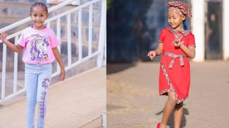Ladasha Impresses Fans with English Prowess, Netizens Ask Dj Mo, Size 8 About Her Schooling