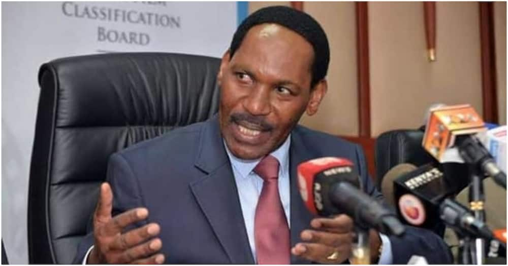 Ezekiel Mutua says fear of God is the reason for his success.