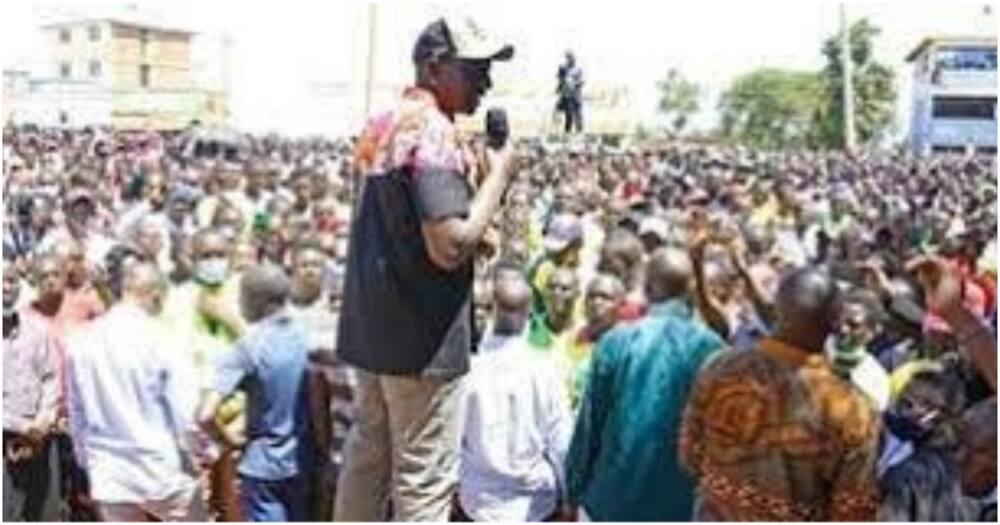 William Ruto suspends all public engagements after Uhuru's address