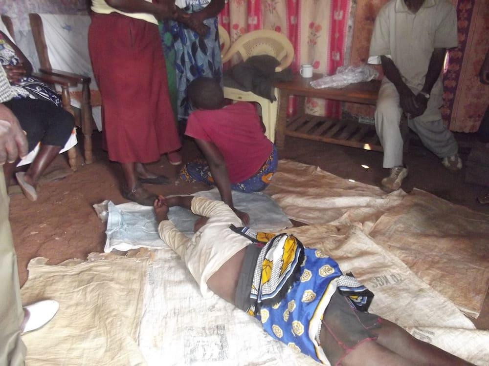 Muranga: Familia moja yaamuka na kupata misalaba miwili imepandwa mlangoni