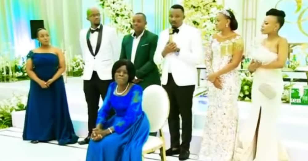 The wedding occurred in Dar es Salaam, Tanzania.