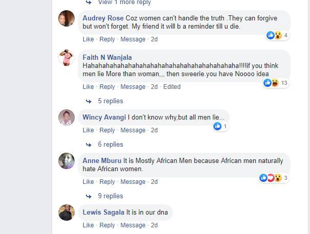 women lie more