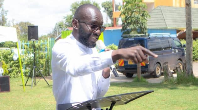 Thirdway Alliance SG Fredrick Okango insists Ekuru Aukot is an 'outsider'