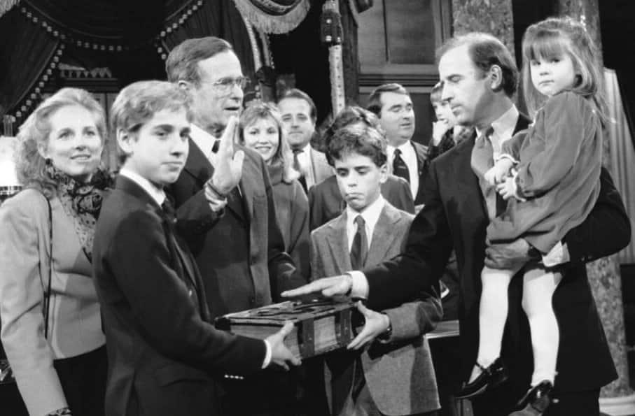 Biden sworn in using 127-year-old Bible