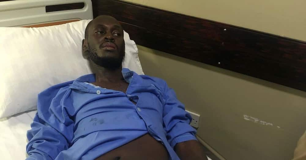 King Kaka says his support system saw him through recovery.