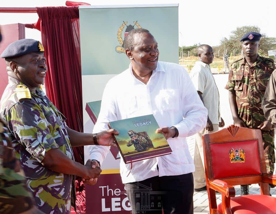 Uhuru opens first KDF barracks in North Eastern Kenya