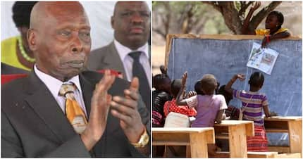 In Moi's Baringo backyard, schools have no classrooms despite his 24-years as president