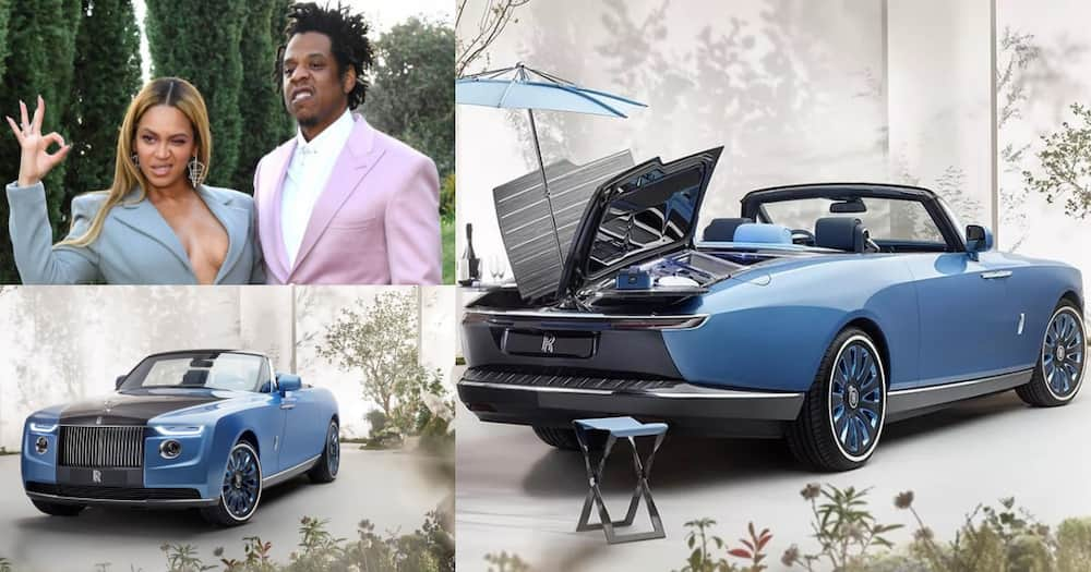 Beyoncé & Jay Z Buy Most Expensive Car in the World; Rolls Royce Boat Tail