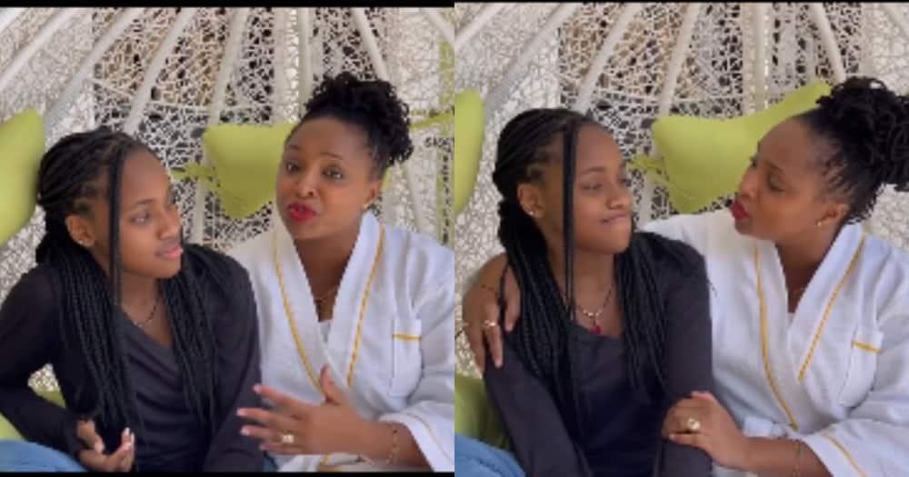 Massawe Japanni and her daughter Imani.