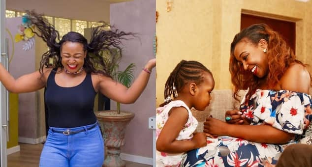 Betty Kyallo shares cute photo of adorable mummy-daughter date with her little one and it's just perfect