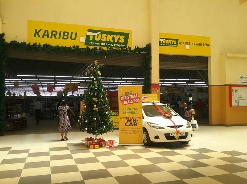 Tuskys supermarket launches an online retail portal