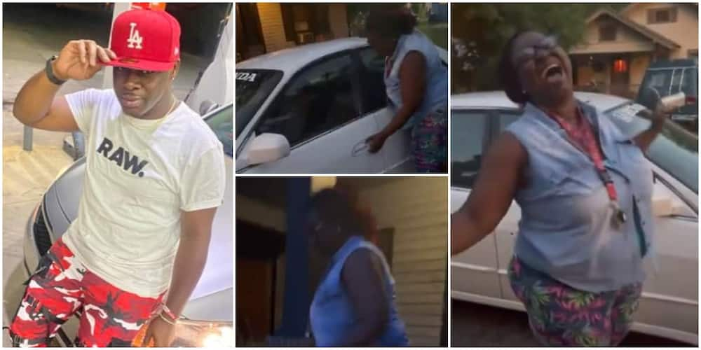 Sweet Moment Mum Screamed for Joy as Son Surprises Her Early in the Morning with a Car Goes Viral
