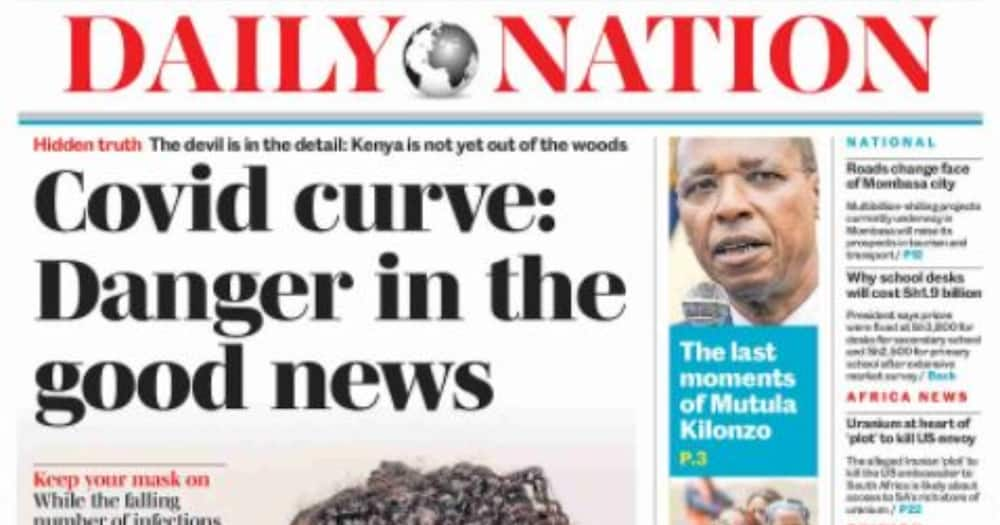 Kenyan newspapers review for September 18: Top 5 counties set to receive highest allocation in new formula