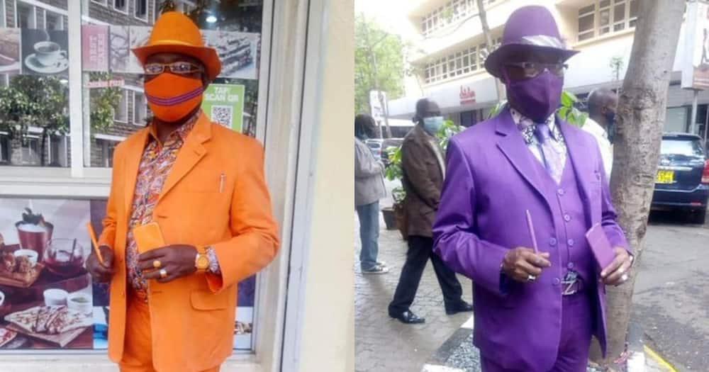 James Maina Mwangi: Nairobi man who went viral with his matching outfits appears in international media