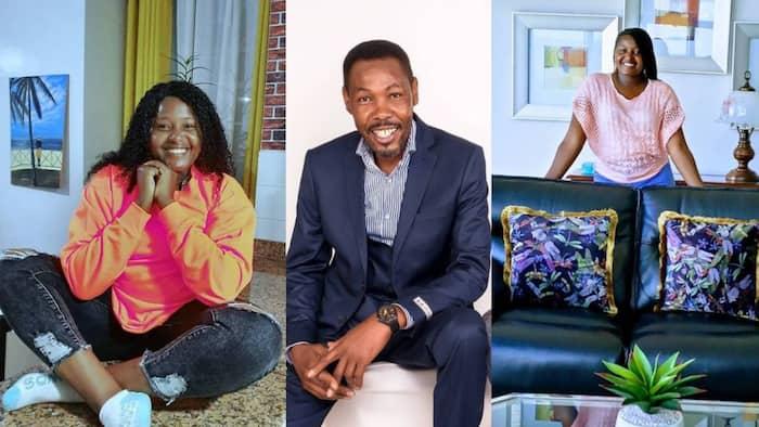 Kathy Andrews: Picha 6 za Mrembo Aliyeamua Kumkabidhi Omosh Kizangila Nyumba Mpya