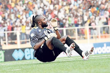 Legendary TP Mazembe keeper Robert Kidiaba known for his wild goal celebrations wins parliamentary seat in DRC