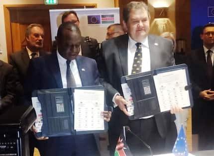 Kenya signs KSh 519 billion agreement with EU in support of Big Four Agenda