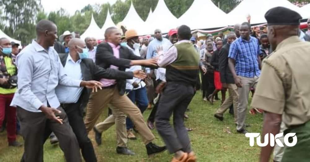 Jamaa ajaribu kumzaba kofi DP Ruto akiwa Murang'a