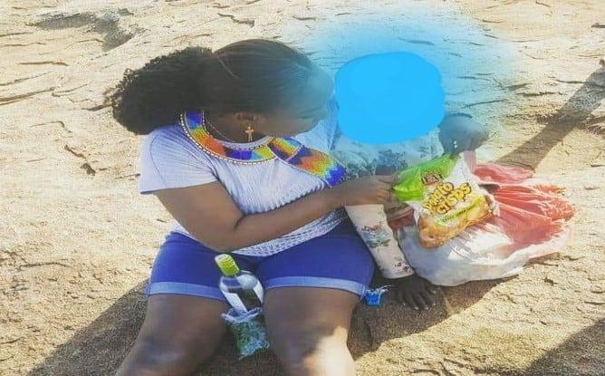 Sonko's daughter Saumu Mbuvi slams critics bashing her for showering Lamu senator with sweet messages