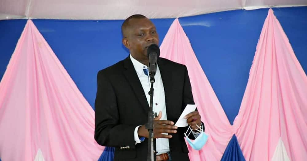 Kapseret MP Oscar Sudi. Photo: Oscar Sudi.