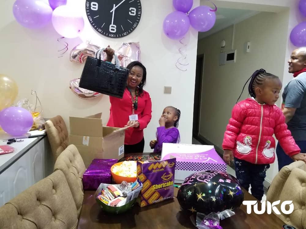 Radio presenter Bonnie Musambi gifts wife KSh 1 million cheque, iPhone
