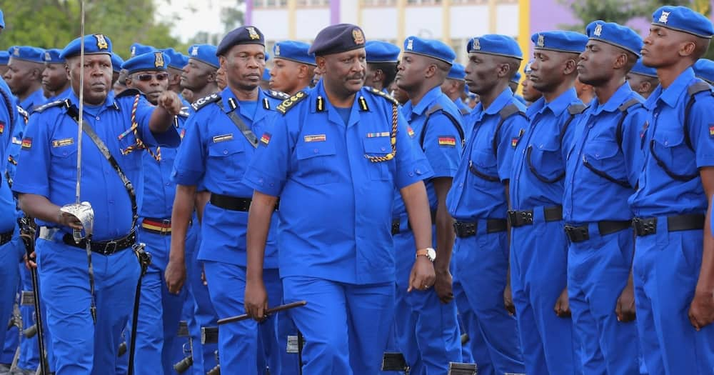 Kenyan police officers have been accused of brutality on several occasions.