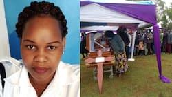 Caroline Kangogo Azikwa Kama Raia, Familia Yamvisha Kama Bi Harusi