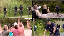 Video Captures 78-Year-Old US President Joe Biden and wife Jill Riding Bicycles on Streets, Stirs Reactions