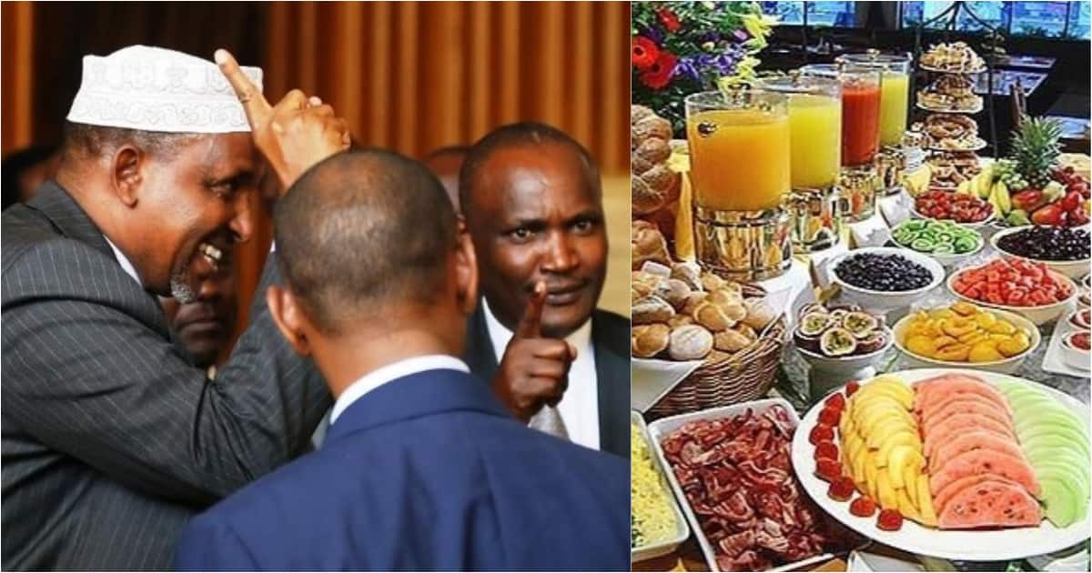 Drama as Kenyan MPs demand 5-Star hotel services, reject Parliament food