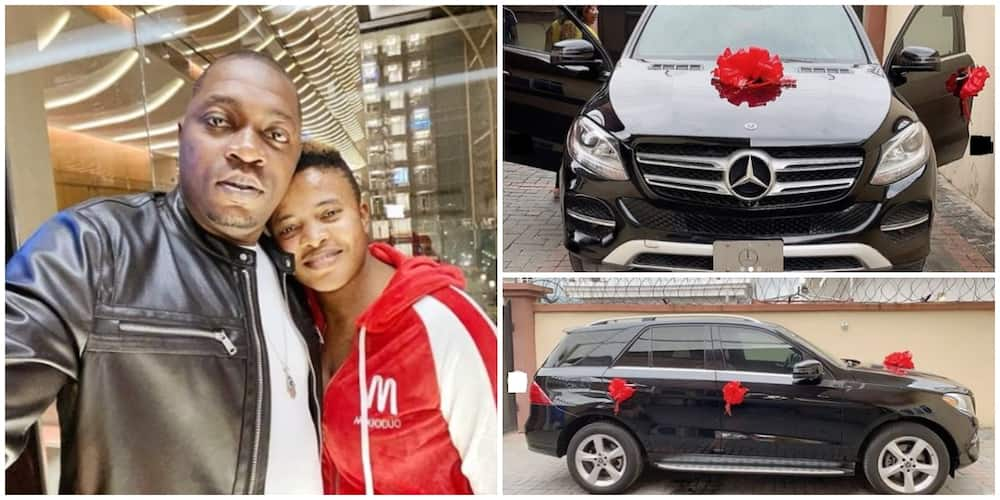 Filmmaker Austin Soundmind's wife gifts him a 2017 Mercedes Benz for his birthday