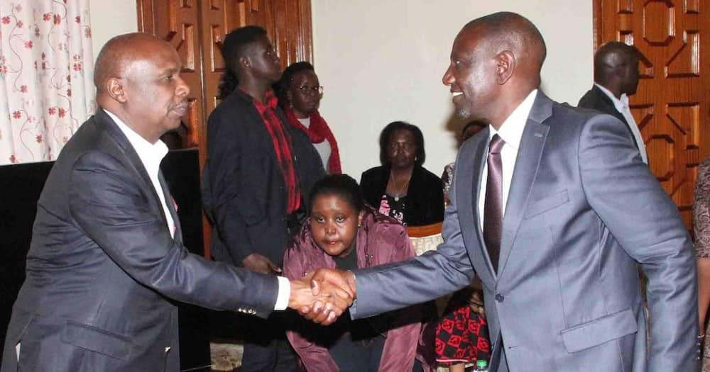 Confusion as William Ruto, Gideon Moi claim same project in Baringo
