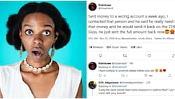 Woman surprised after man refunded money she mistakenly sent to him