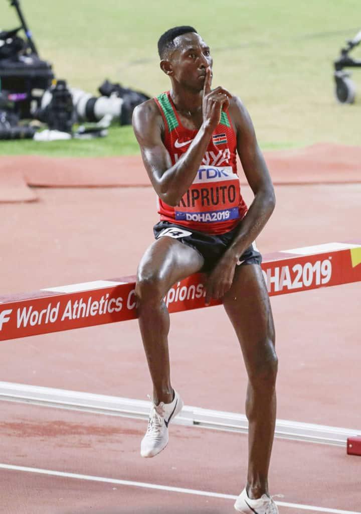 Athletic champions Brigid Kosgei, Lawrence Cherono return home to muted receptions