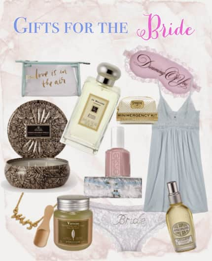 Bridal shower gifts that the bride will definitely love