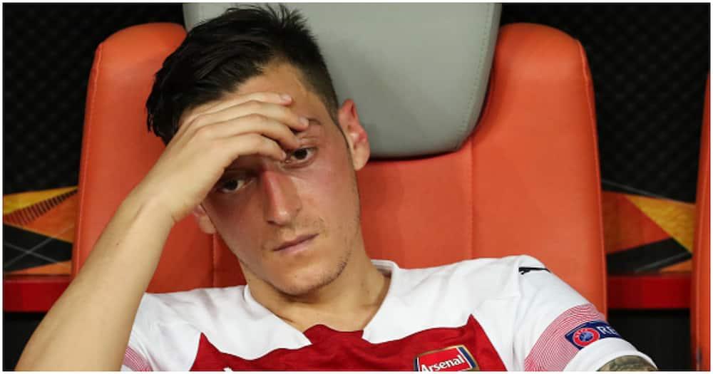 Mesut Ozil releases statement after Arsenal squad snub