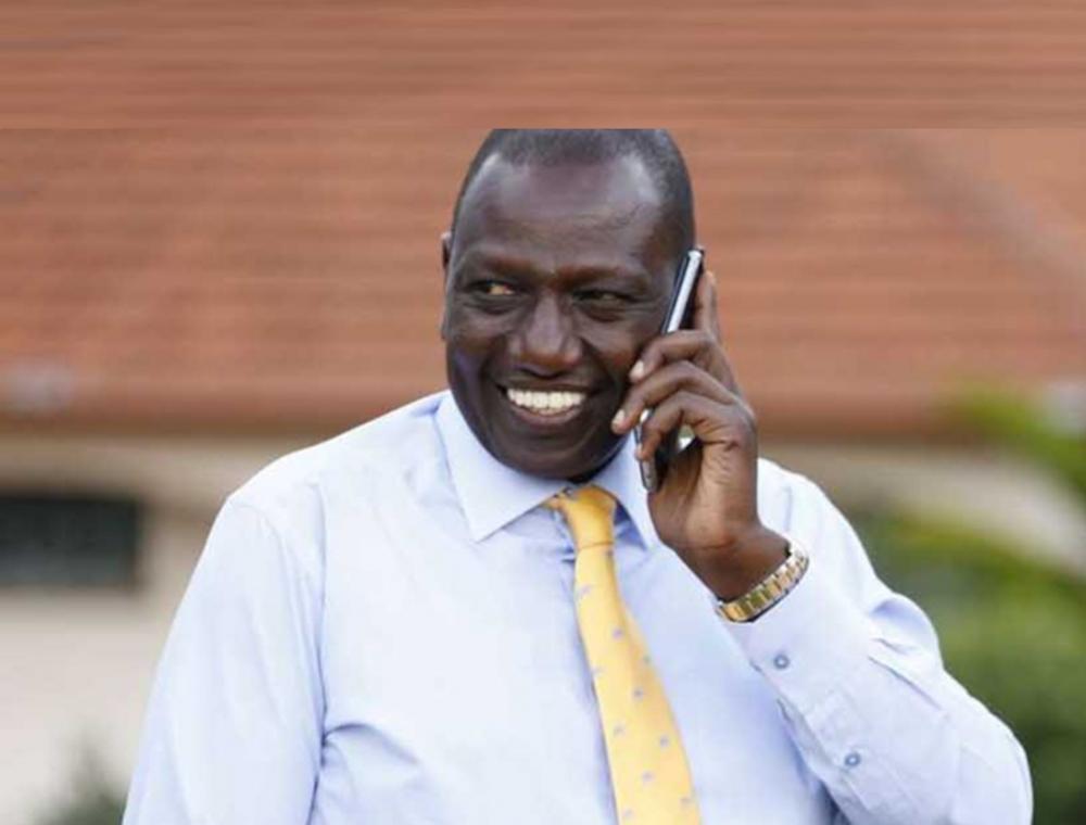 DP Ruto alazimika kubadili mbinu ya mazungumzo ya simu, asema makachero wanaskiza kila kitu