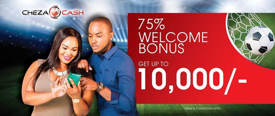 ChezaCash bonus