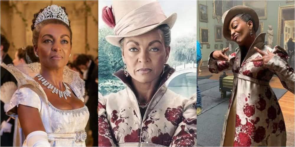 Adjoa Andoh: Meet Ghanaian UK-born who plays Lady Danbury in the Netflix series Bridgerton