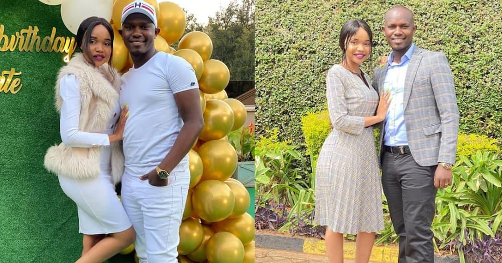 MC Jimmie Kajim and Silvana Wambui.