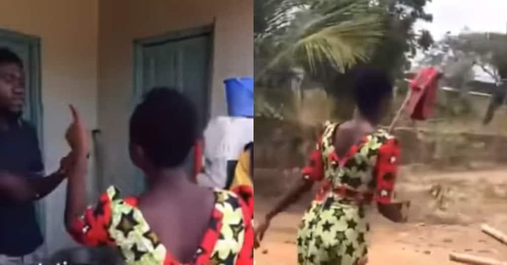 Kasandra Maame Afua: Ghanaian lady tells boyfriend he will never marry or be successful following hearbreak