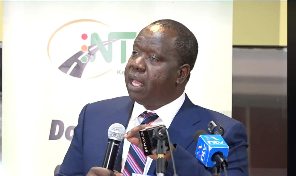 Matiang'i says Kenyans will soon start sending videos, photos of corrupt officers in the act