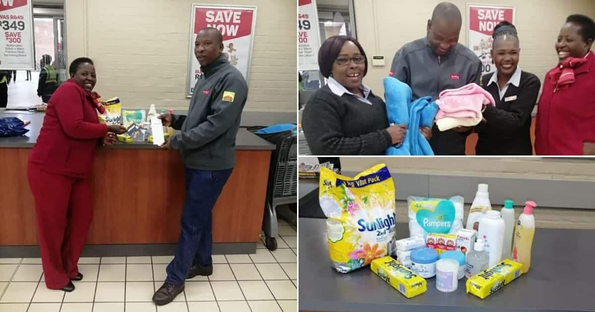 Staff Donate Baby Clothes And Supplies To Support