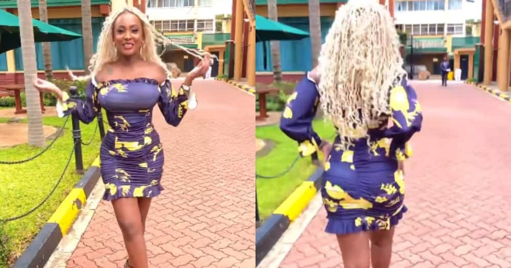 Joyce Maina Entices Fans After Flaunting Curvaceous Body in Charming Video