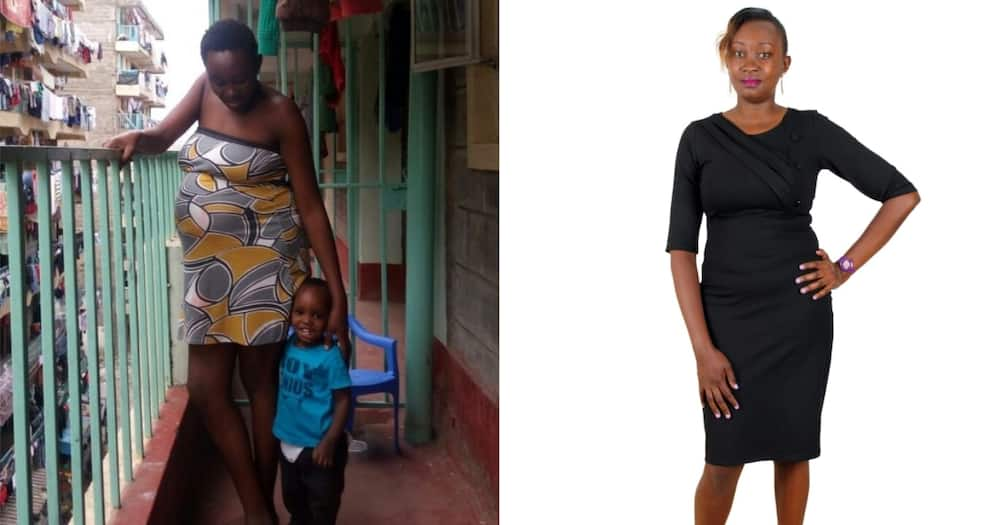 Catherine Wairimu went through a dark patch but managed to get over it and become a loving mother again.