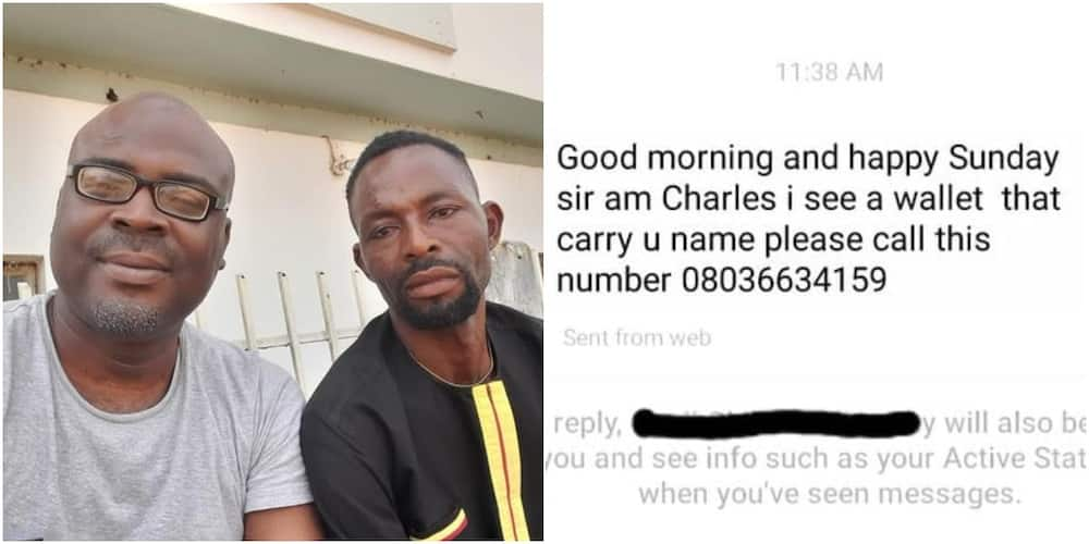 Man rejects N10k reward after returning missing wallet with money in it